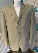 Fellini Menswear Grey / Cream Suit Dinner Jacket (42 Short, 42S)