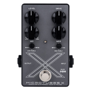 Used Darkglass Microtubes X Bass Distortion Pedal!