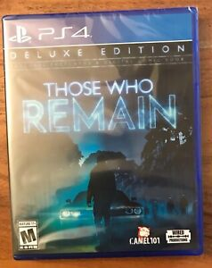 Those Who Remain (Deluxe Edition) (PS4 / PlayStation 4) BRAND NEW / Region Free