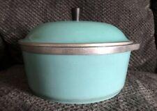 Vintage Club Aluminum 4 Qt Dutch Oven Dome Lid Teal
