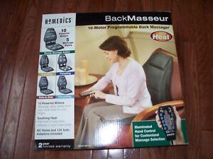 Homedics Back Masseur with Heat, Slightly Used