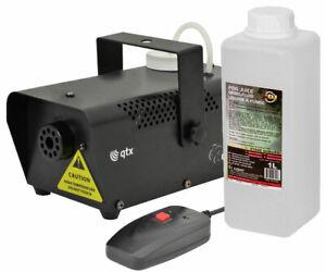 Smoke Machine Fog Effect inc Wired Remote Disco DJ effects + 1L Fluid 400W Party