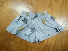 Seed Heritage star print shorts size 1-2 girls metallic accents