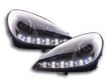 black Daytime running light halogen headlights Daylight FOR Mercedes SLK R171