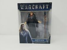 "Medivh Action Figure World Of Warcraft 6"" inch w/ Staff Accessory Legendary New"