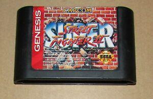 Super Street Fighter II for Sega Genesis Fast Shipping!