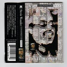 STEVIE WONDER - CONVERSATION PEACE.   *RARE CASSETTE TAPE*