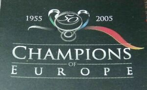 PANINI FOOTBALL STICKERS CHAMPIONS OF EUROPE 2005