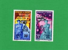 Dahomey Scott # C103-C104 Apollo 11 First Man On The Moon 2 Unused Stamps NH