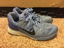 Women's Nike Lunarglide 7 Chalk Racer Blue Running Shoe Size 7.5