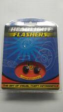 New listing Varad Hlf-104 Red Led Headlight Flashers, City Lights (1 Pair)