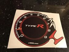 Honda Civic Fn2 Type R Vtec Rev Counter Graphic