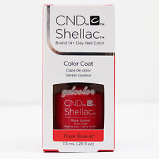 CND Shellac UV LED Gel Nail Polish RHYTHM & HEAT Collection - Ripe Guava #91586