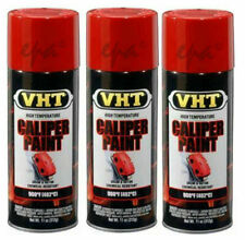VHT Caliper Paint Brake Drums & Rotors Spray Can Real Red Gloss SP731 x 3 cans
