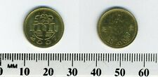 Macao 2007 - 10 Avos Brass Coin - Lion Dance Costume Head dress/crown