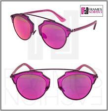 CHRISTIAN DIOR SO REAL Purple Violet Metal Mirrored Sunglasses DIORSOREAL Unisex