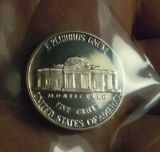 5 CENT. 2001 JEFFERSON SERIE S  FONDO SPECCHIO PROOF UNC TOP QUALITY!