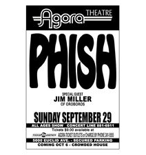 Phish 1991 Cleveland Concert Poster