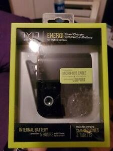 New OEM TYLT Energi SmartCharger Power Bank for Micro USB Devices + USB Port -@