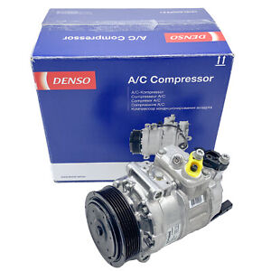 NEU DENSO Klimakompressor mit Schraube Kompressor Klimaanlage AUDI SEAT SKODA VW