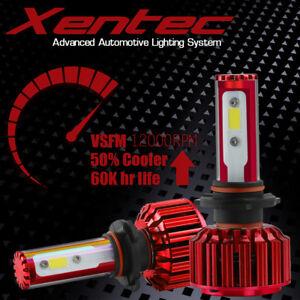 60W 6000LM H7 CREE LED Headlight Kit Low Beam Light Bulbs 6000K White High Power