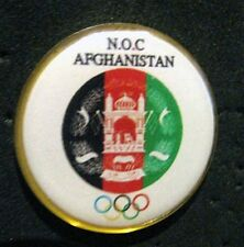 New Olympic AFGHANISTAN NOC Internal team - delegation RARE pin