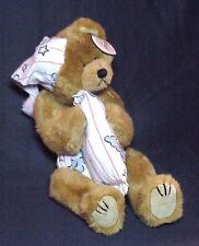 1993 Precious Beanie Attic Treasures Bear Ty China Plush With Tags
