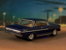 1963 63 CHEVY 2 NOVA SS COLLECTIBLE 1/64 SCALE REPLICA MODEL DIORAMA OR DISPLAY