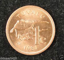Tuvalu Coin 1 Cent 1981 UNC