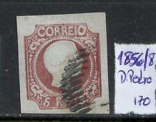 Portugal 1856/1858 - King Pedro V 5 reis stamp used