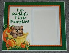 "Halloween Picture Frame ""I'm Daddy's Little Pumpkin!"" By Expressly Yours"