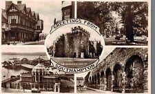 Rppc,Southampton,U.K.5 Views,Hampshire,Used,1935
