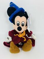 Sorcerer Mickey Mouse Bean Bag Plush Stuffed Animals w/Tags Disney Store