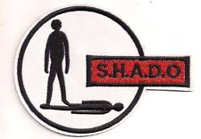"UFO TV Series SHADO Logo 4"" Embroidered Patch-FREE S&H (UFOPA-01)"