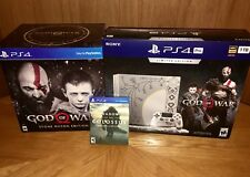 PS4 Pro Limited Edition Console •God Of War Stone Mason •Shadow Colossus Special