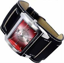 Jay Baxter Big Uhr Herren Armband Uhr Schwarz Rot B-Ware