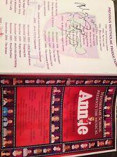 Diana Vickers Signed School Musical Programme 2007 Pre X-Factor Annie Unique !