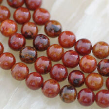 8mm Yellow Azurite Chrysocolla Round Gemstone Loose Beads 15''AAA
