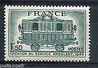 STAMP / TIMBRE DE FRANCE NEUF 1944 LUXE N° 609 ** SERVICE POSTAL AMBULANT