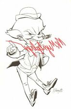 Who's Who in the DC Universe - Mister Mxyzptlk - 2010 Signed art by J.J. Kirby
