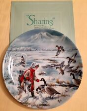 Set of four Authenticity Collector Plate Nature and Children