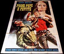 1960 North to Alaska ORIGINAL Italian 2Foglio POSTER John Wayne Punch Artwork