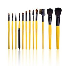 SHANY Natural Brush set with BJF Goat Bristles and Leopard Magnetic Pouch - 12pc