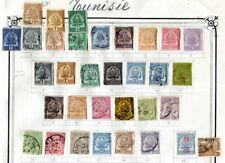 TUNISIE 1888-1919 * und gestempelte schöne ALTE SAMMLUNG(67709c