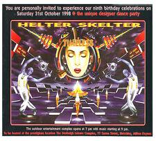 HELTER SKELTER - TIMELESS (HARDCORE CD COLLECTION) 31ST OCTOBER 1998