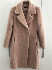 TWIN-SET SIMONA BARBIERI Jacke Damen Size M 38 Mantel Jacket Trenchcoat Altrosa
