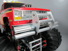 New Aluminum Front Animal Guard Bumper for Tamiya 1/10 RC Super Clodbuster Truck