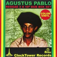 BOX 3X10 INCHES AUGUSTUS PABLO REGGAE DUB BOX SET VINYL REGGAE