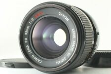 【Near MINT】 Canon FD 35mm F/2 S.S.C. SSC MF Wide Angle Lens From JAPAN 448