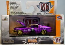 M2 Machines 1968 Ford Mustang Satin Purple S17 Auto Mods Super Chase 1/64 1of75